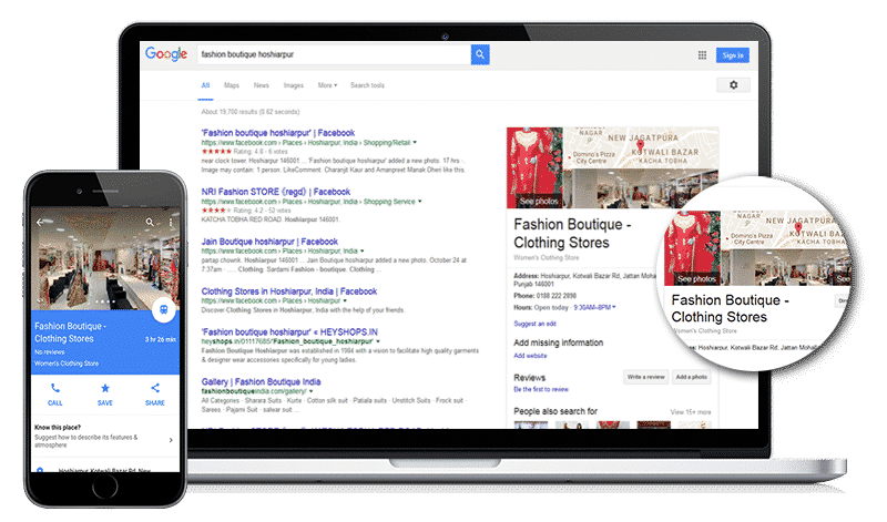 Make your business able to searchble on Google