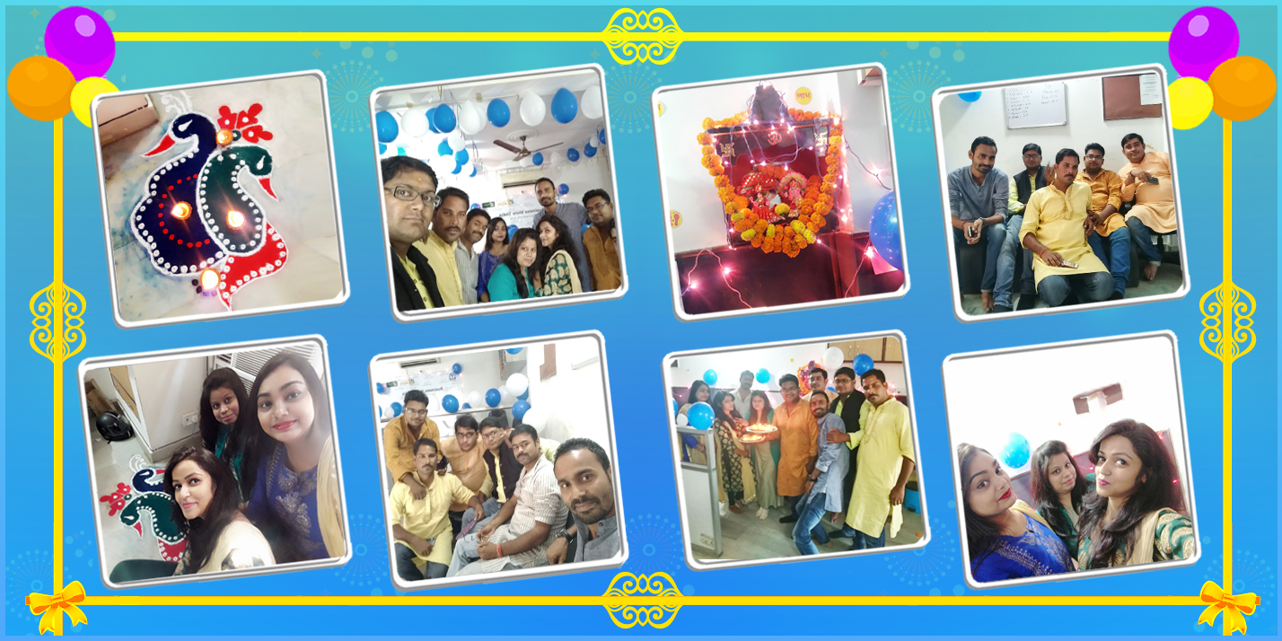 Diwali Celebration At CS18 Lucknow