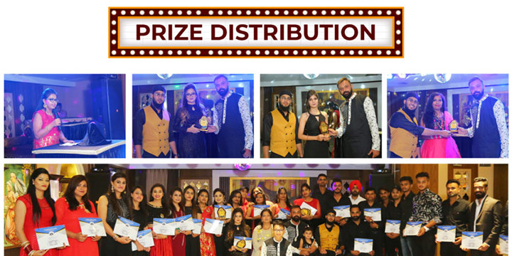 Prize Distribution to employees for their achievements