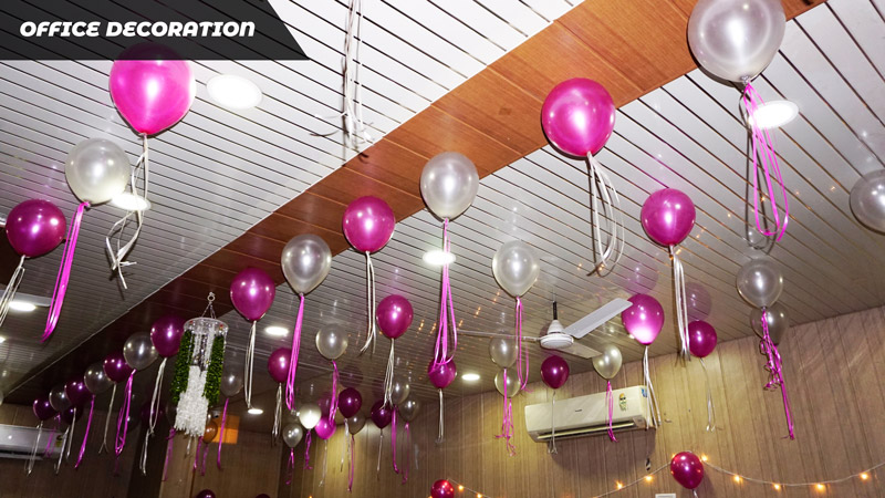 office decoration business view india